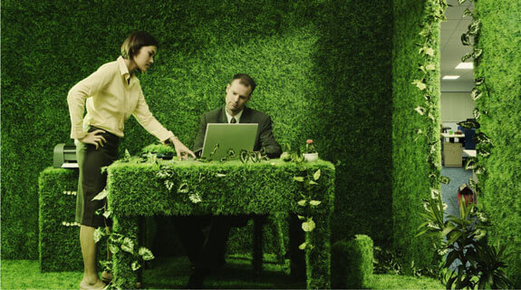New elements, New trends: Eco-friendly Office?